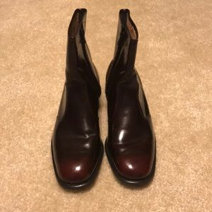 Oxblood Leather Classic Men's Boots